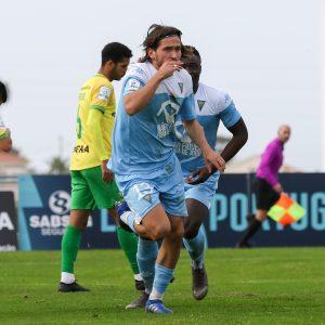 Miguel Crespo marcou aos 58 minutos