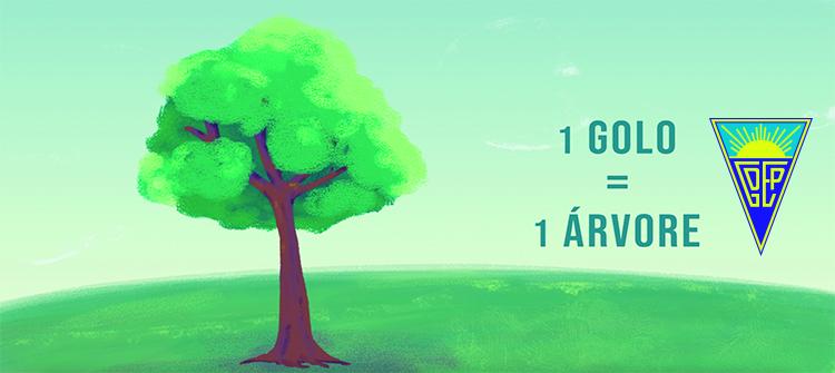 1 golo = 1 árvore